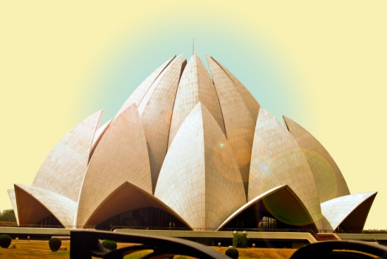 Bahà'í House of Worship - The Lotus Temple